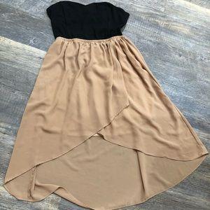 Wet Seal Strapless dress